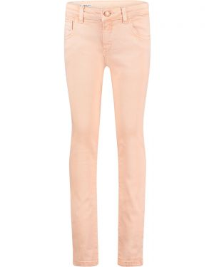 Impulse Roze - Spijkerbroek Stretch Denim Skinny