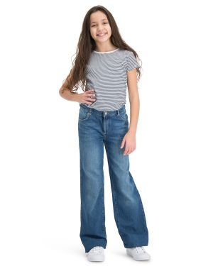 Amazone Blue Jeans Straight Leg jeans