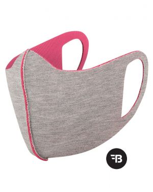 Mondkapje  health mask uitwasbaar roze