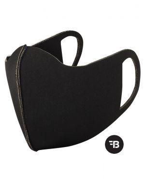 Mondkapje  health mask uitwasbaar zwart