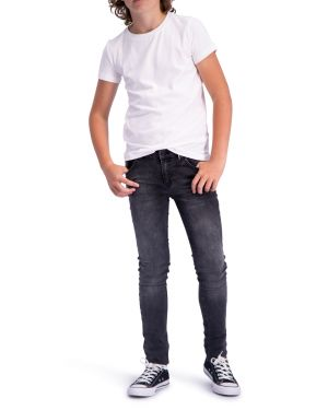 Skinny Finch Zwart - Hyper Stretch Denim