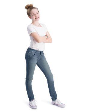 Impulse Blauw - Stretch Denim Skinny