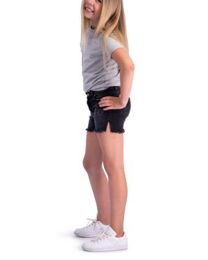 Kinder Korte broek - Lux Grijs-Zwart