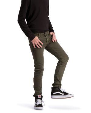 Solar Groen Army Green Denim Spijkerbroek